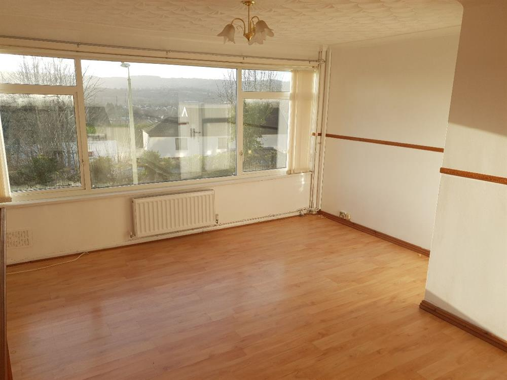 Living Room showing the views over Caerphilly